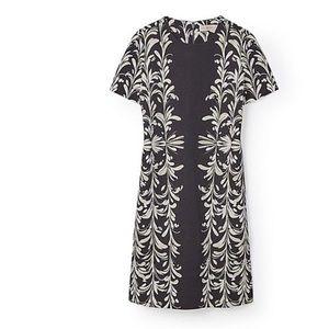 Tory Burch Grey Brushstrokes Dress